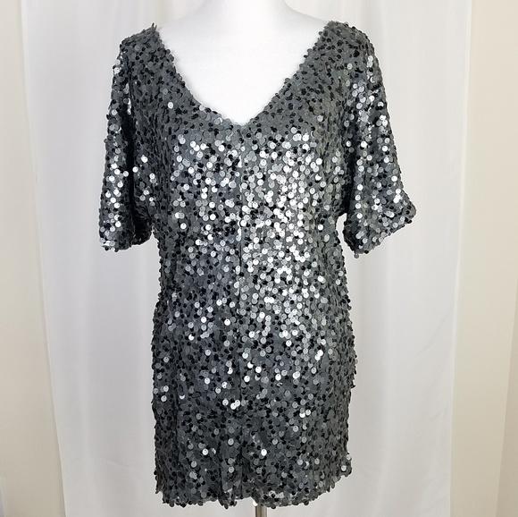 ce3978c631 Forever 21 Sequin Mini Dress Small Silver Gray. Forever 21.  M_5b911b879519967446af5086. M_5b911b84951996afe5af5082.  M_5b911b8812cd4a0d6086679d